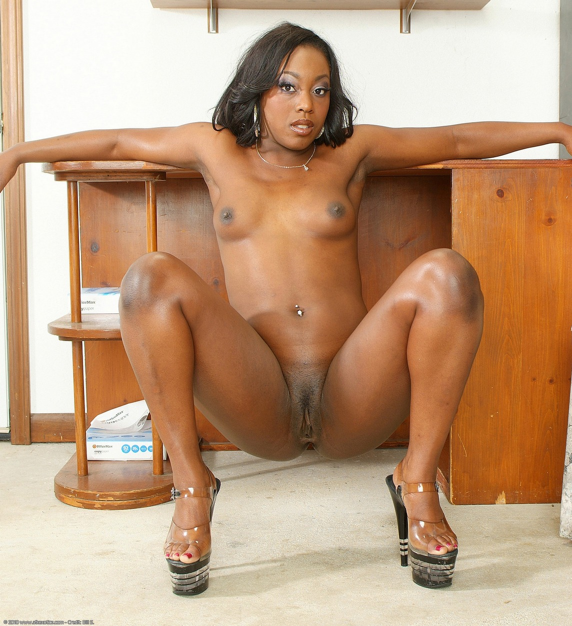 Black naked women masturbating black vagina
